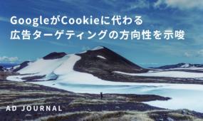 GoogleがCookieに代わる広告ターゲティングの方向性を示唆